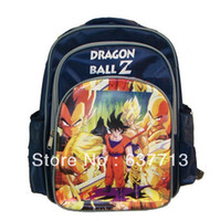 Wholesale Japanese anime Dragon ball Z Nylon schoolbags boys Backpack Child School Bag new arrival Retail