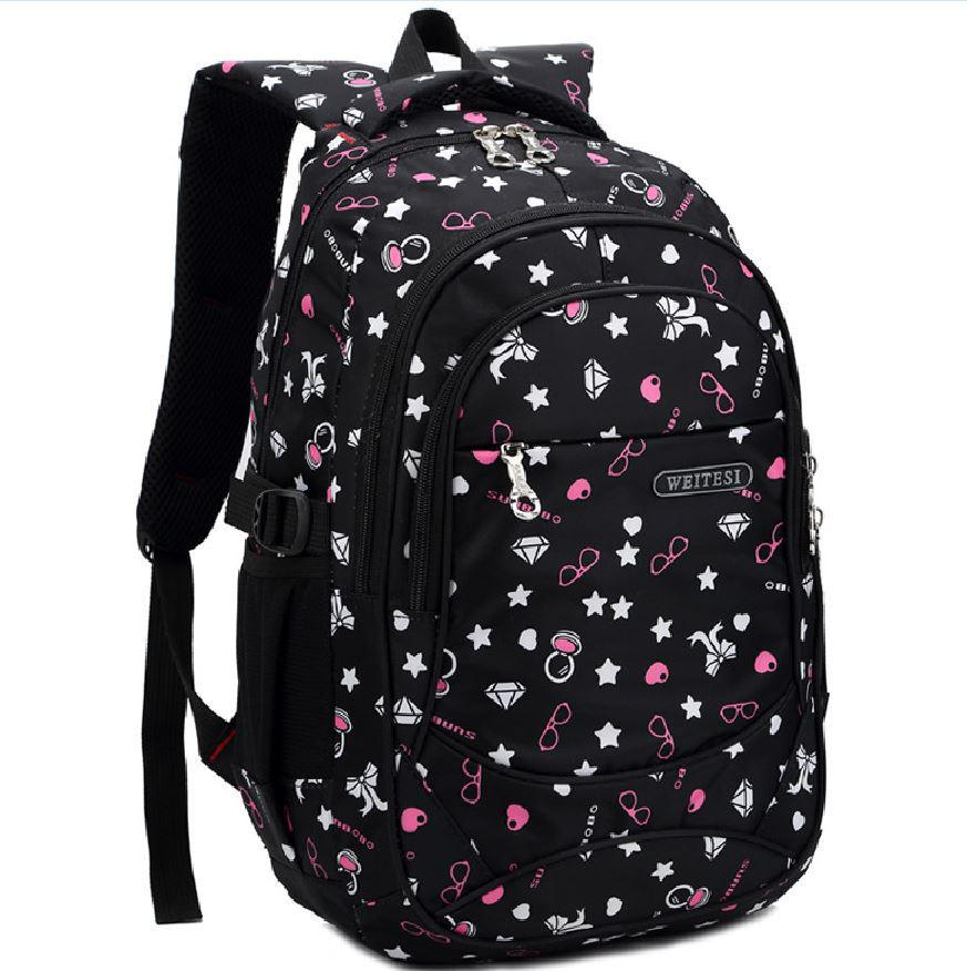 Wholesale High School Girl Backpack Girl Boy Backpack School ...