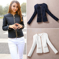 winter jackets for women - New womens Winter and autumn cotton jacket fashion coat for womans Padded jacket Slim top Brand clothing