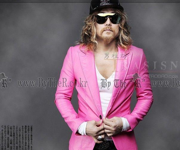 Discount Pink Suit Coat For Men | 2017 Pink Suit Coat For Men on