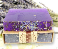 pure lavender oil - Lavender essential oil soaps whitening and hydrating contractive pore containment pure natural handmade soap XZ1