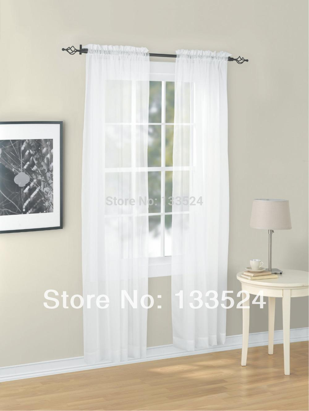 Sheer yellow curtains - Sheer Yellow Curtains 45 Wholesale Euphoria Window Valance Curtain Panel Voile Sheer Sheers Solid Color