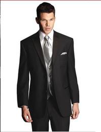 New Style Wedding Prom Men Suits Groom Tuxedos Bridegroom Suit (Jacket+Pants+Tie+Vest) D53J