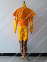 aang avatar - Custom Cheap Aang Cosplay Costume from Avatar the Last Airbender