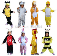 bee kids costume - bear mickey mouse duck bee frog crocodile monkey panda cow dog Cosplay Children animal costume for kid styles
