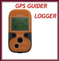 Wholesale 20pcs Outdoor ManGo GPS GUIDE GPS LOGGER GPS tracker with Compass DataLogger Mileage ect RW G005