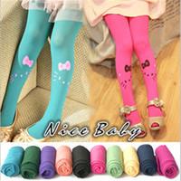 kids pantyhose - Retail Mini order pc colors Girl s children stockings cat kids female pantyhose stocking Y0033