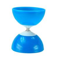 Precio de Juguetes chinos de la nueva llegada-Al por mayor-Nueva llegada XWZ azul Diabolo chino Yo Yo Malabares Spinning Yoyo juguete clásico caliente para los jugadores