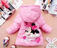 Wholesale Minnie mouse jackets children s wear sales winter coat years children clothes hand pieces