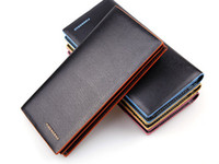 abs hit - New Arrival Men Wallets Genuine leather With Pu Colorful hit Color Casual Purse Top quality