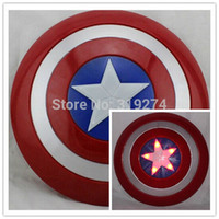 america lights - Captain America The Winter Soloier Shield Light Emitting cm quot Cosplay