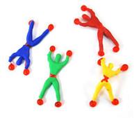 batman villains - Climbing Over Wall Sticky Spiderman Climbing Superman Children s Toys Villain Drop Shipping EW003