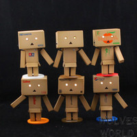 amazon dolls - Lovely Danboard Mini PVC Action Figure Toy Danbo Doll with LED Light Amazon Style cm styles