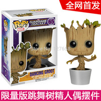 action figure clearance - Special clearance FUNKO POP Marvel Galaxy Guard Groot action figure new box