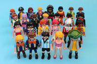 american native people - Playmobil Figures Knights People Horses Native American Random Styles Children Toys