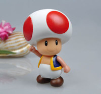 Wholesale Details about New Super Mario Bros quot TOAD Action Figure Toy zth