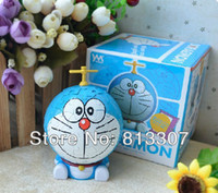 batman pack - Japan Anime Cartoon The Bamboo Dragonfly Doraemon D DIY Puzzle Packed PVC Model Toys Figure For Christmas Gift