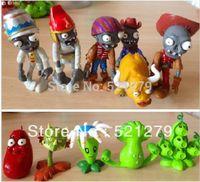 batman items - new item set Plants vs Zombies Action Figures toys Christmas gift Plants vs Zombies figure