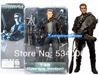 arnold schwarzenegger doll - Neca Terminator T Arnold Schwarzenegger Cyberdyne Showdown with Gatling quot Action Figure Figurine Toy Doll