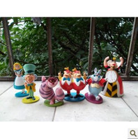 ation figure - MiNi size alice s adventures in wonderland toy PVC ation figure doll for collection gift decoration