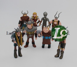 Wholesale set cm How To Train Your Dragon Movie Figurines PVC Action Figures Classic Toys Kids Gift