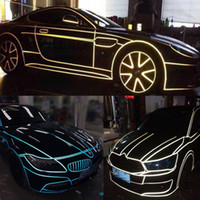 aluminum door parts - meters Super reflective strip decoration car decoration waterproof stickers personalized car tuning parts