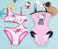 Wholesale pc New Children Girls Swimwear Kids Swimsuit One Piece Baby Girls Swimming Wear New Arrival SW018