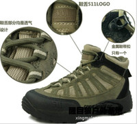 Cheap Wholesale-Outdoor Combat boots boots marines Tactical Breathable hiking shoes Sports Soldier Boots