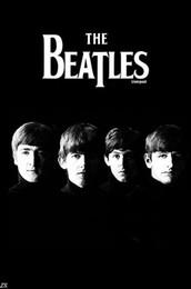 Оптово-The Beatles Silk Poster HD Большой Современная Спальня украшений Классическая Поп музыка Rab Звезда Плакат Большой для стены 021