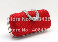 Cheap Wholesale-Evening Bag , Party Clutch bags handbag ,Slap-up Bride Bag Purse , Wedding Women Evening Purse Mini 2015 Birthday Gift EB048