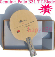 Wholesale Genuine T T table tennis blade Palio B21 full quick attack looping table tennis racquet racquet