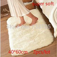Wholesale Hot sale promotion super soft x40cm carpet floor rug area rug slip resistant bath mat doormat