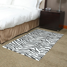 Wholesale CM CM rectangle zebra fashionable American style Modern rugs and carpets for home living room Oriental carpets