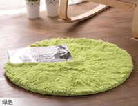acrylic chair mat - Hot selling cm green Carpet round rugs for home the carpet mat for chair children carpets