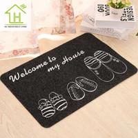 acrylic kitchen doors - color slipper pattern black carpets for living room kids bathroom non slip floor door mats area rugs and carpets of kitchen