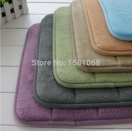Wholesale High Quality Slow rebound Memory Foam Bath Mat Rug Soft Touch Durable JBUK