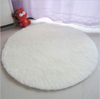 bathroom flooring choices - cm Super Soft Solid Carpet Floor Rug Living room Mat Area Rug Round Mat Colors for Choice