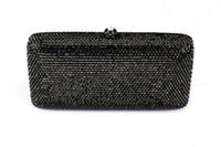 rhinestone purses - Evening Rhinestone Clutch Bags Pure Color Bags Party Prom Purse Vintage Solid Bags Party Purse Designer Evening Bags B164