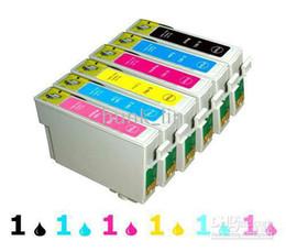 Wholesale 6 PK Comp ink Cartridges for epson Artisan T0981 T0982 T0983 T0984 T0985 T0986 N
