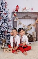 Wholesale Vinyl Photography Backdrop Christmas Custom Photo Prop backdrop ftX7ft D