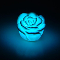 Wholesale LED Changing Color Floating Rose Flower light