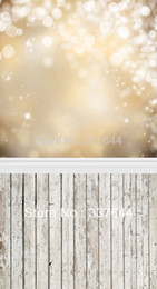 Wholesale thin vinyl Photography Backdrop bokeh Wood Floordrop Custom Photo Prop backdrop backgrounds ftX7ft D