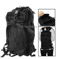 Buy -Military Nylon Oxford Waterproof 3P Tactical Backpack Bag Camping Adjustable Strap