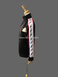 Wholesale Free Iwatobi Swim Club Jacket Rin Matsuoka Deluxe Edition Uniform Jacket Coat Suit Cosplay Costume High School Sprot Wear