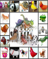 balloon animal designs - Cheapest ever bulk Walking Foil Balloon Cartoon Design lovely animal Deer giraffe dinosaur Tiger elephant