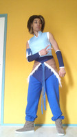 avatar cosplay - Custom Cheap blue Korra Cosplay Costume from Avatar the Last Airbender
