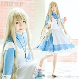 Wholesale-New Arrival Kagero project Sakura Jasmine Cosplay Kozakura Mari Alice In Wonderland costume Anime Cosplay Plus Size XL