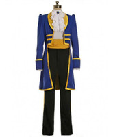 adam beauty - High Quality Beauty and The Beast Prince Adam Cosplay Costume Halooween Christmas Costume Fancy Party Costume Plus Size