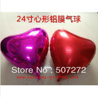 bargain balloons - Bargain Price inch heart shape foil balloon Good Quality ASTM Approved
