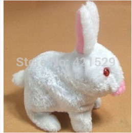 Wholesale-Plush Toys Electric Toy Rabbit Walking Baby Toy Rabbit For Kids Free Shipping New Arrival Wholesales